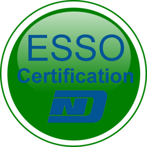 ESSO-Certifcation-Button